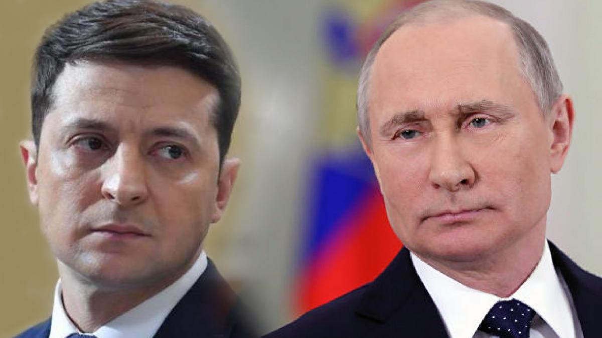 Владимир Зеленский и Владимир Путин / фото УНІАН