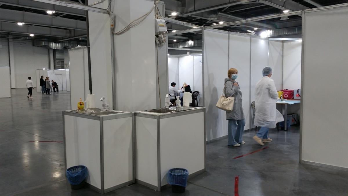 В Украине открылись центры массовой вакцинации / Фото УНИАН, Инна Андалицкая