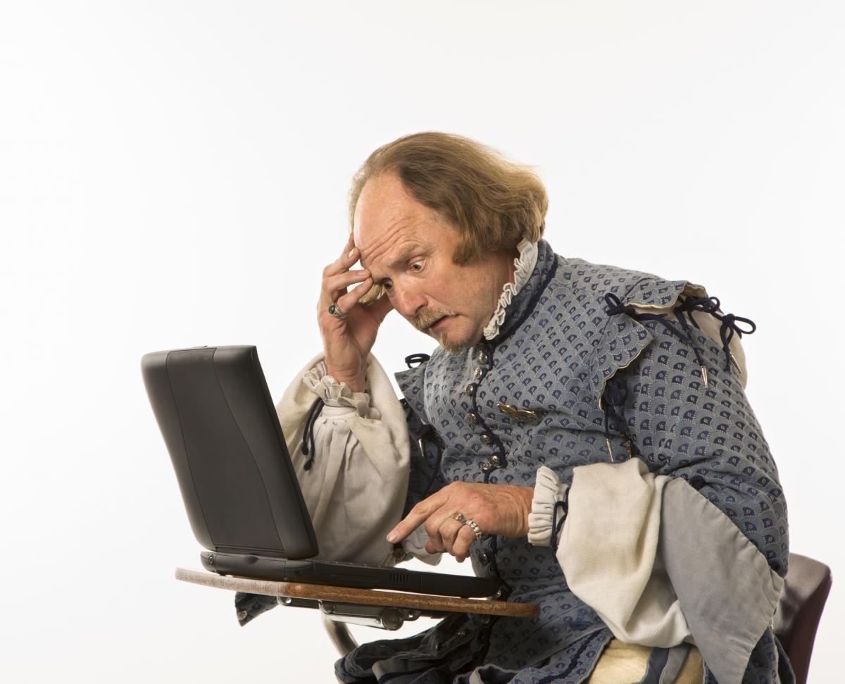 Аргентинська телеведуча переплутала англійського драматурга з його сучасним тезкою / фото ua.depositphotos.com