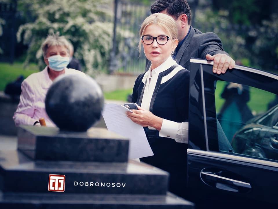 Тимошенко предстала в новом образе / facebook.com/yan.dobronosov