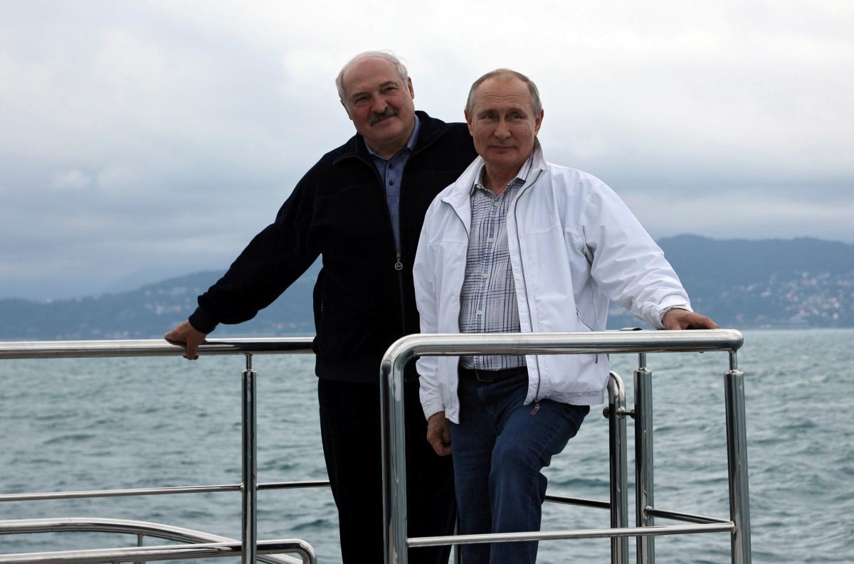 У Путина намекнули на визит Лукашенко в украинский Крым / фото REUTERS