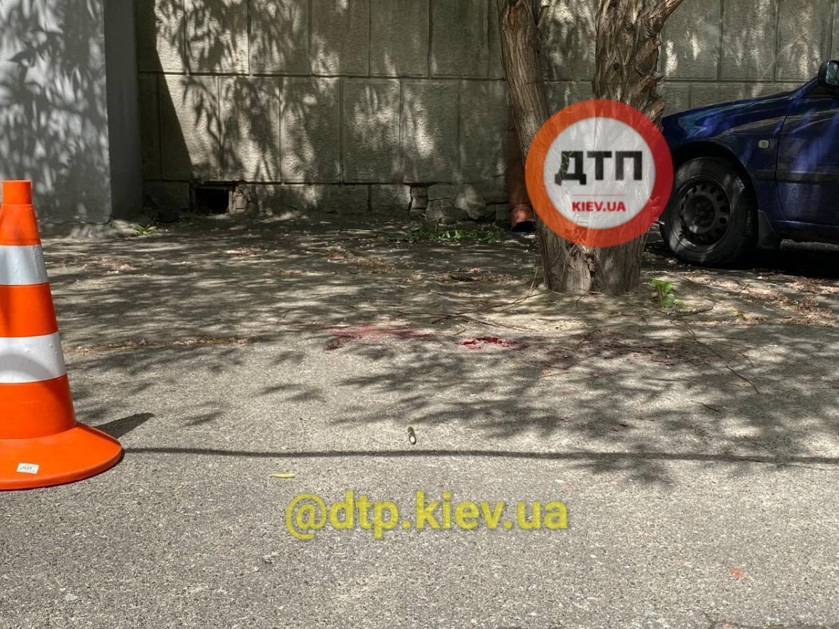 Во время драки один из оппонентов получил травмы / фото dtp.kiev.ua