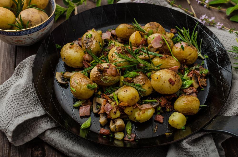 Ранняя картошка рецепт / фото ua.depositphotos.com