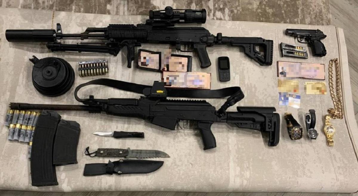 У преступников изъято более 50 единиц огнестрельного оружия / фото gp.gov.ua
