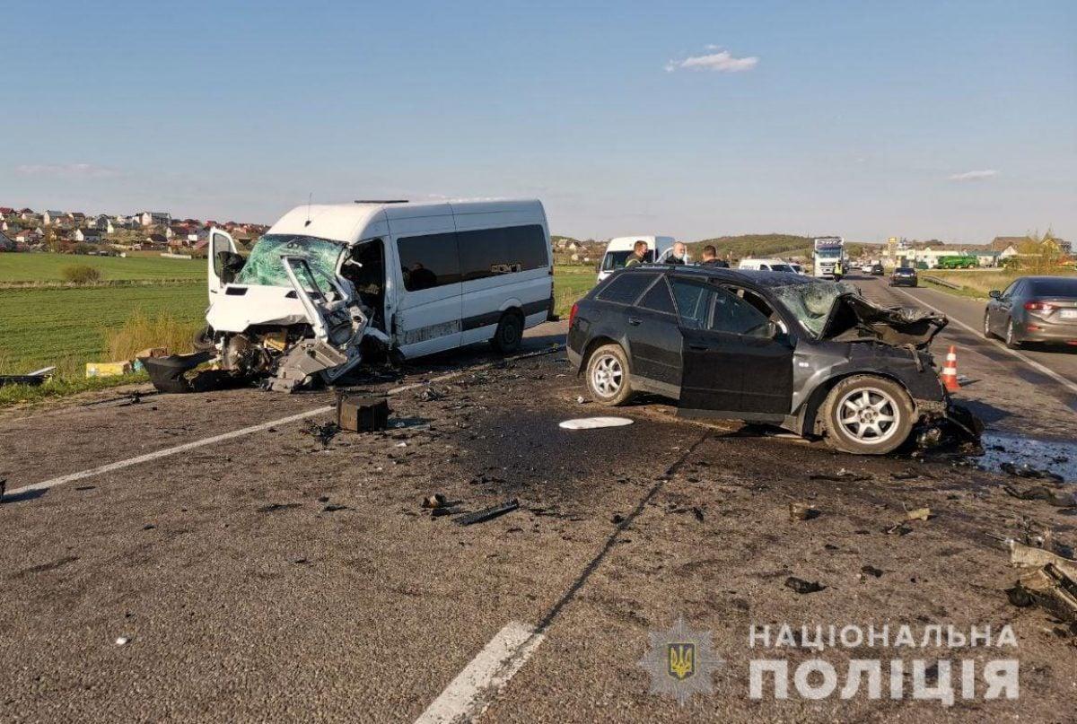 В жуткой аварии на трассе Киев-Чоп погибла целая семья