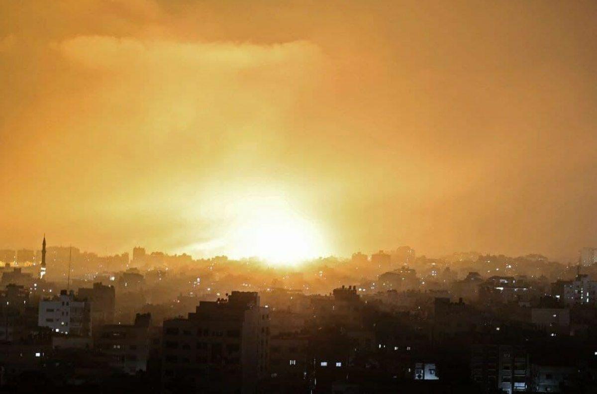Израиль начал наземную военную операцию в секторе Газа