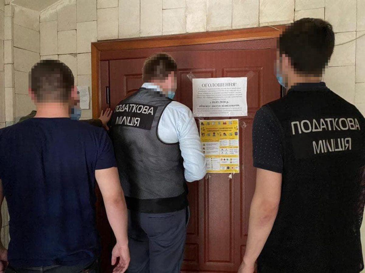 ГФС проводит обыски в Дирекции строительства дорожно-транспортных сооружений Киева