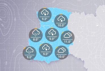 Прогноз погоди Україні на ранок п'ятниці, 7 травня