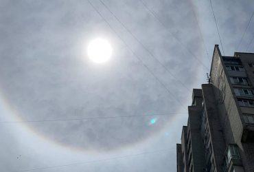 У небі над Запоріжжям помітили рідкісне атмосферне явище (фото)