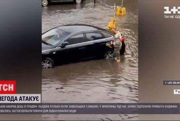 Потужна злива з градом накрила Рівне
