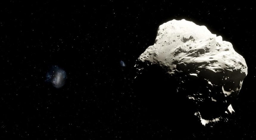 К Земле приближается астероид длиной с футбольное поле