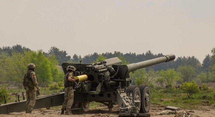 Українські артилеристи провели стрільби на навчаннях НАТО в Польщі (фото)