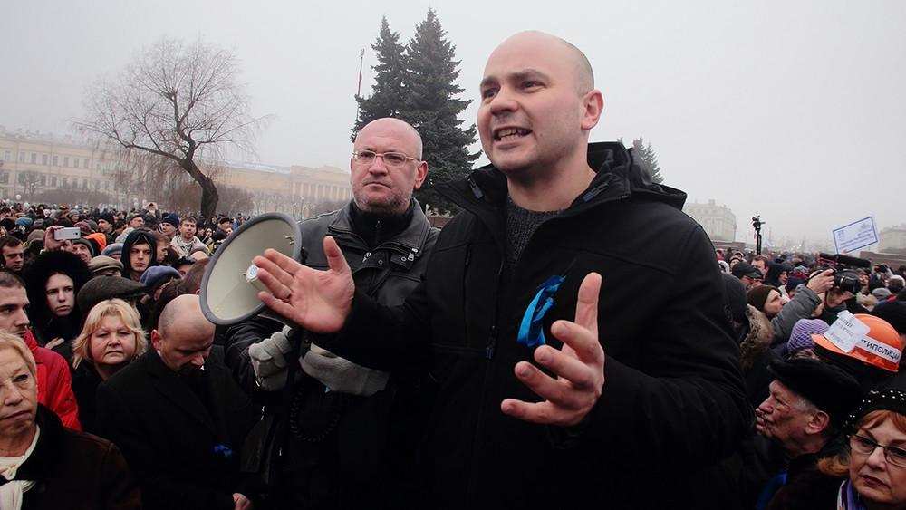 Пивоваров находитсяв статусе подозреваемого по делу о «нежелательной организации»/ фото ТАСС
