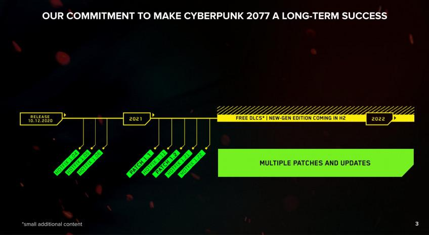 Нова Дорожня карта для Cyberpunk 2077 / скріншот