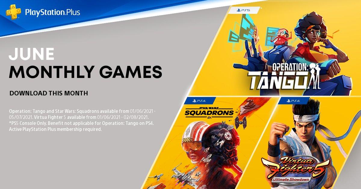 Игры июня стали доступны для подписчиков PS Plus /фото twitter.com/PlayStationUK