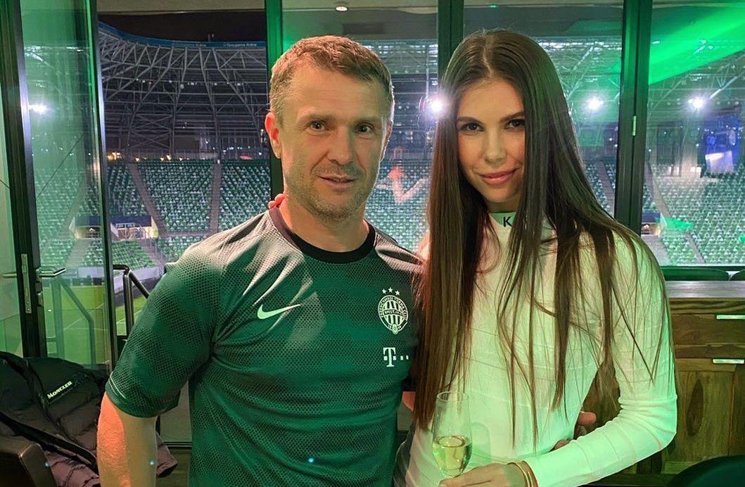 Сергій і Анна Ребров / фото instagram.com/annarebrova31