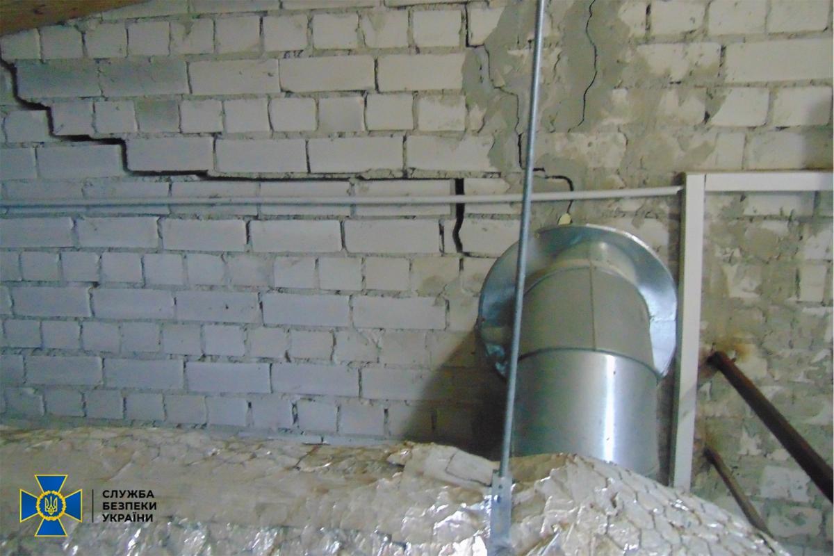 Из-за нарушения норм во время строительства тренировочную военную базу затопило / фото СБУ