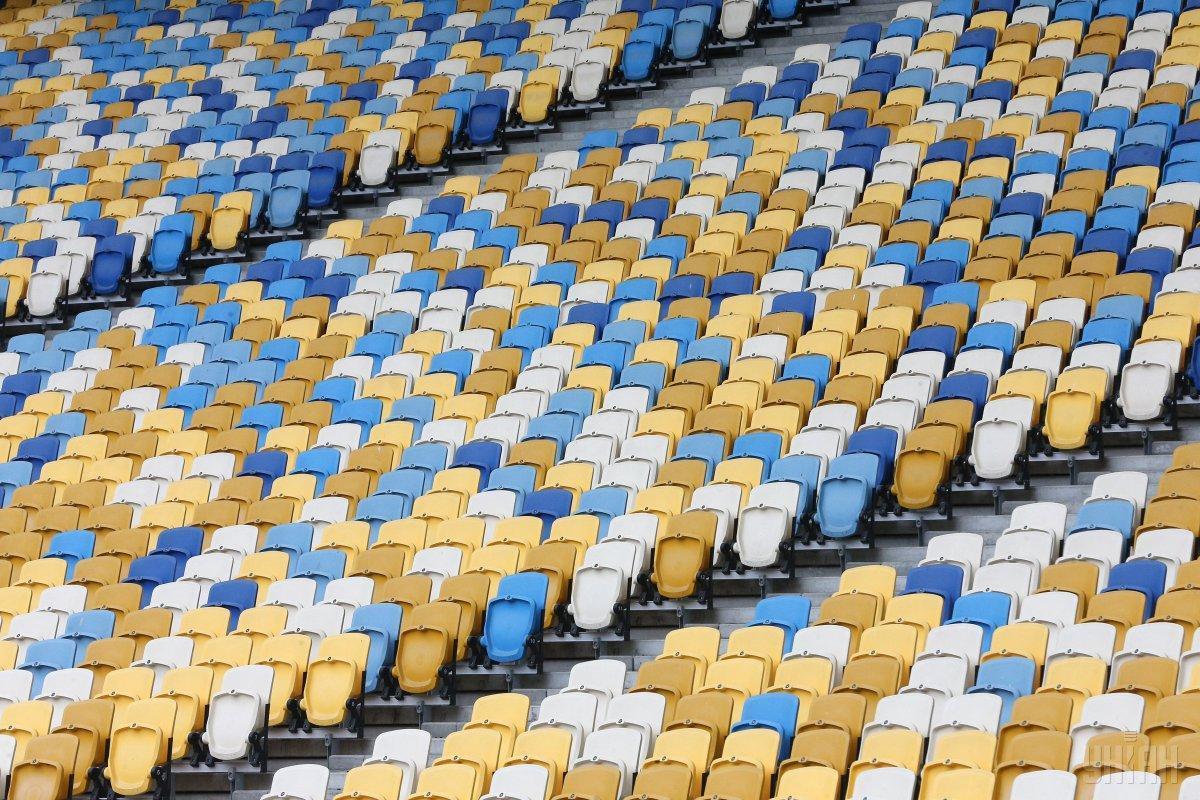 Трибуны НСК Олимпийский / фото УНИАН