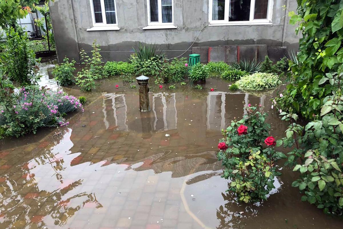 На Днепропетровщине бушевала непогода / фото ГСЧС