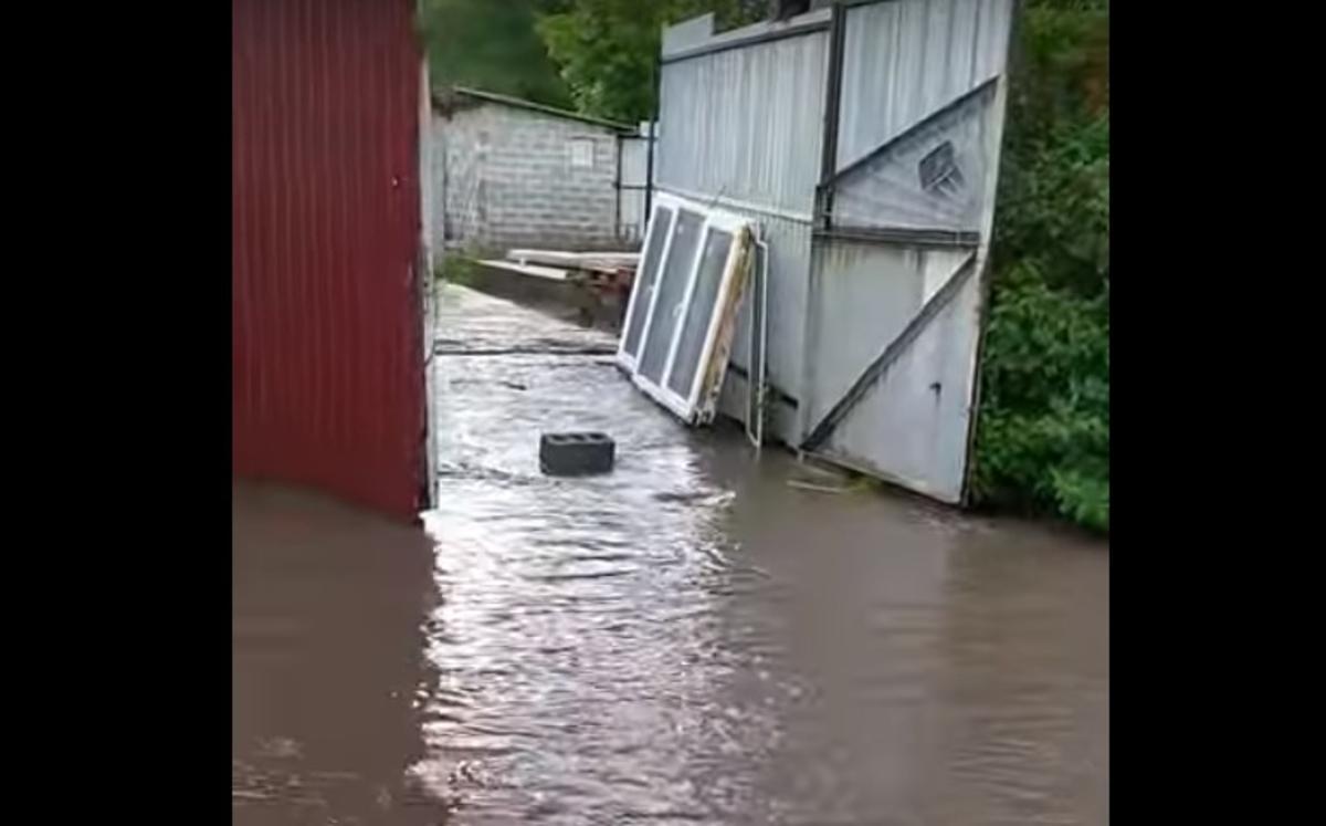 Мариуполь ушел под воду / скриншот видео