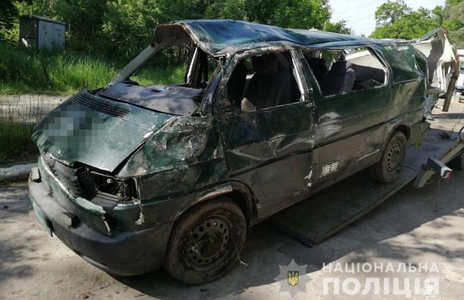 Водитель не справился с управлением / фото полиция
