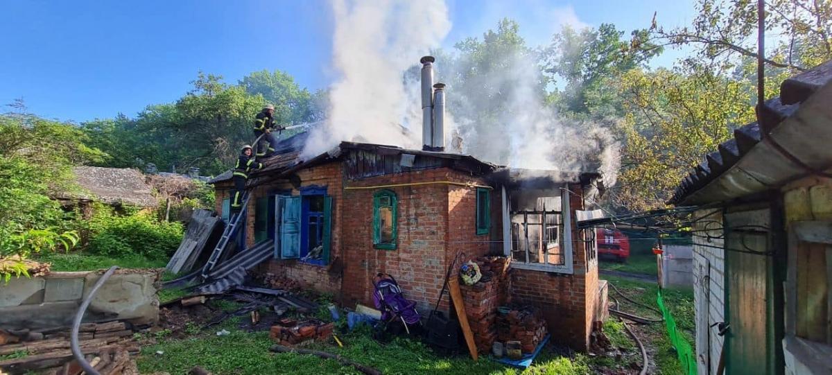 Пожар локализовали за полчаса, а полностью ликвидировали - в течение двух часов \ фото kh.dsns.gov.ua