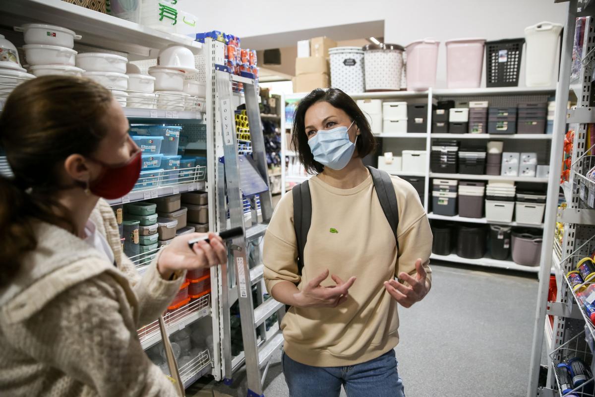 Як пояснила активістка,важливо, щоб супермаркети обирали пакування, яке переробляється/УНІАН