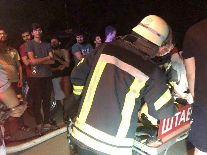 Возгорание произошло в комнате на третьем этаже пятиэтажного здания общежития / Фото ГСЧС