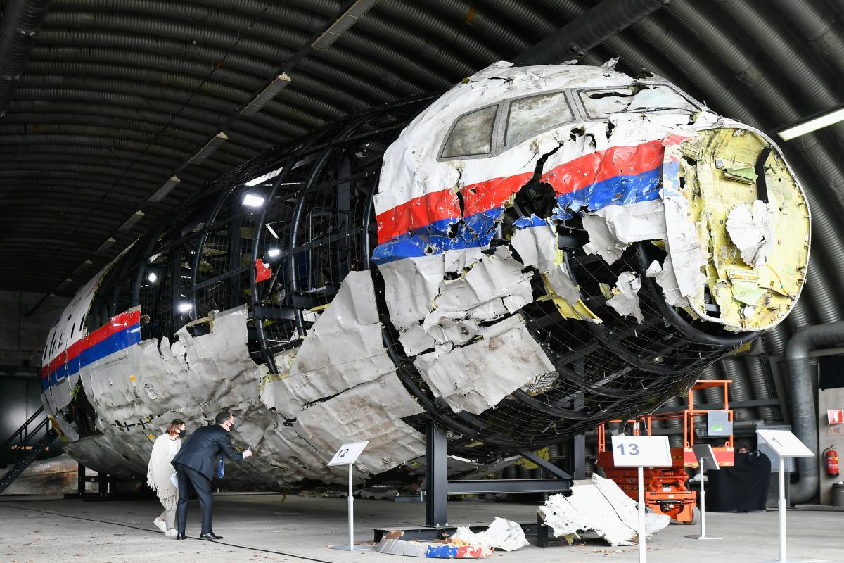 """Самолет рейса MH17 сбит россиянами ракетой из зенитно-ракетного комплекса """"Бук"""" / фото REUTERS"""