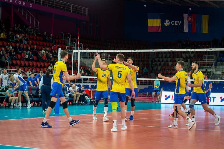 Волейболісти збірної України / фото volleyball.ua