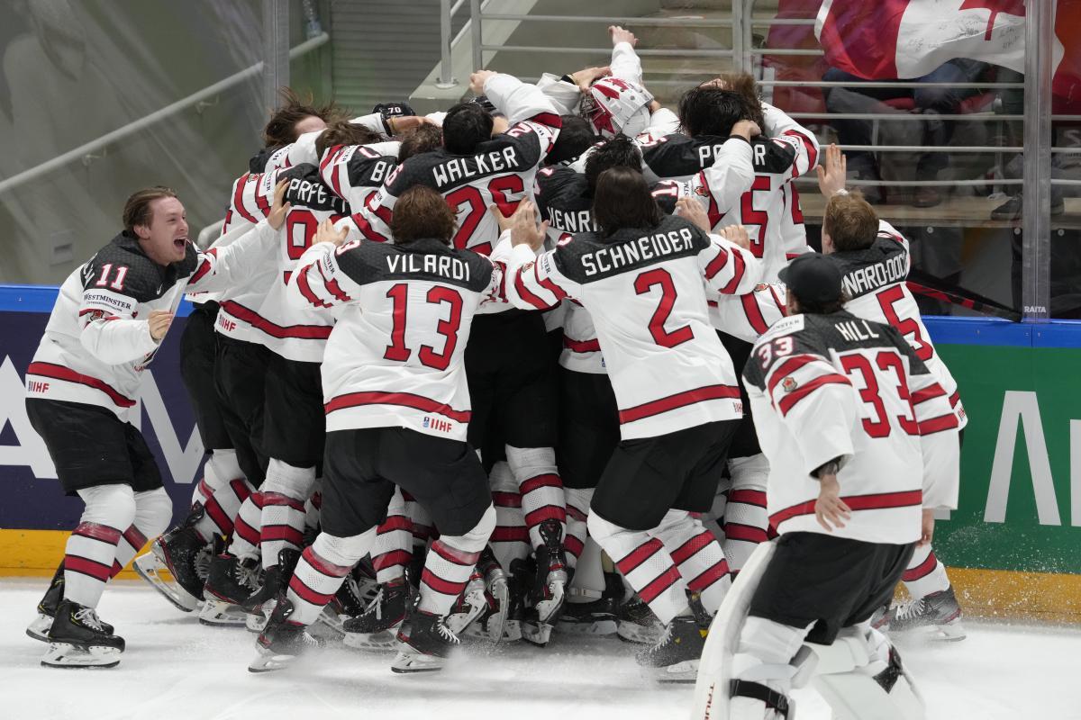 Игроки сборной Канады / фото REUTERS