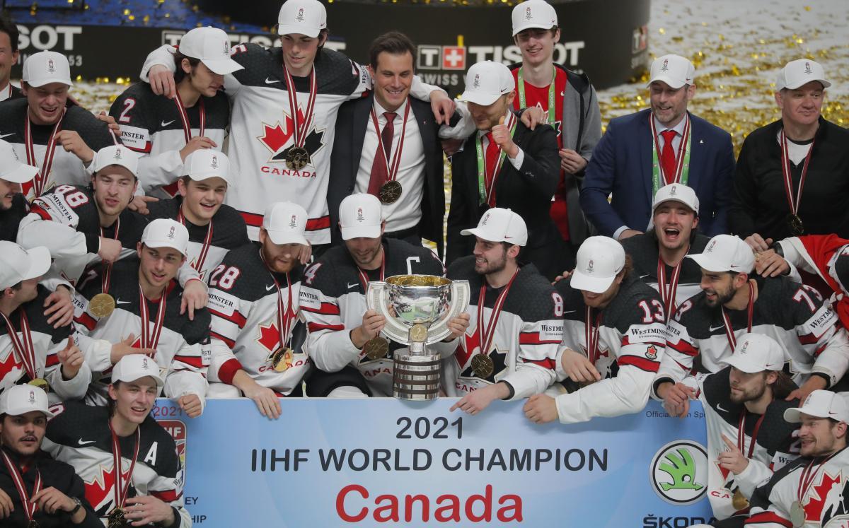 Канада - чемпион мира / фото REUTERS