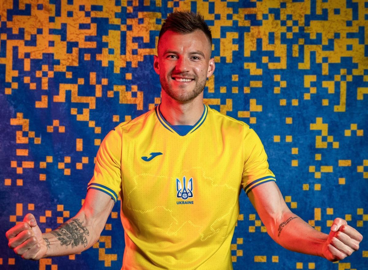 Новая форма сборной Украины / фото facebook.com/andriy.pavelko