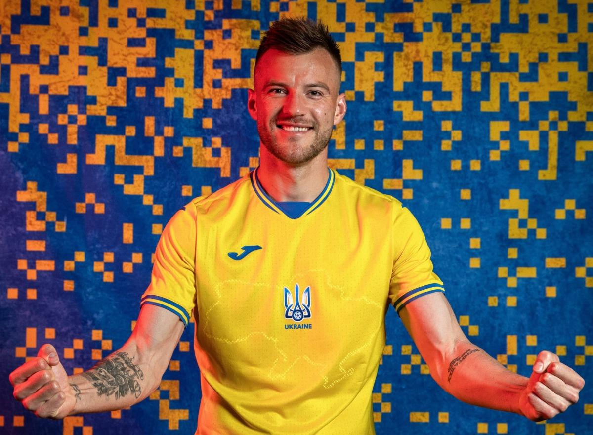 УЕФА согласовал форму сборной Украины / фото facebook.com/andriy.pavelko