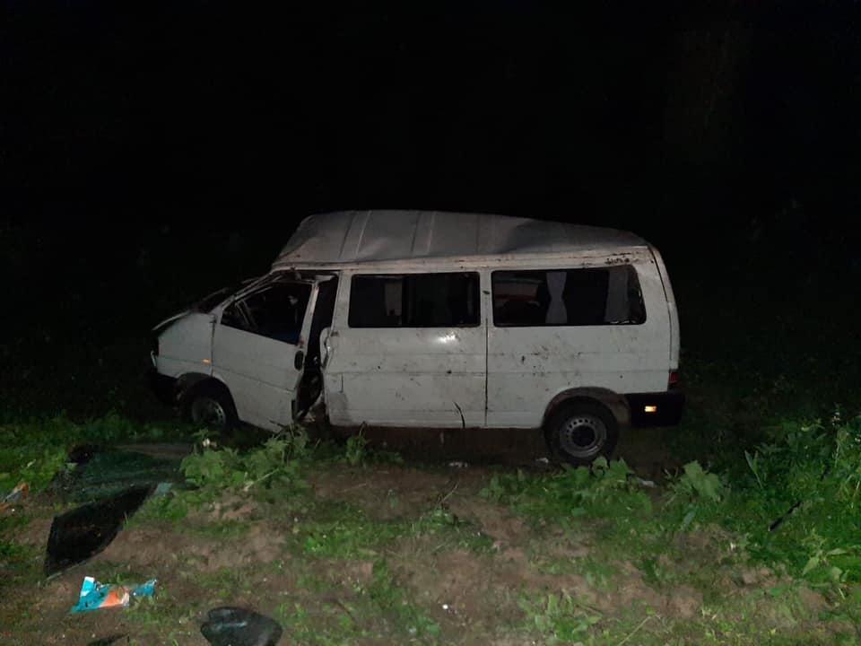 Аварія на Львівщині / фото facebook.com/MVS.LVIV