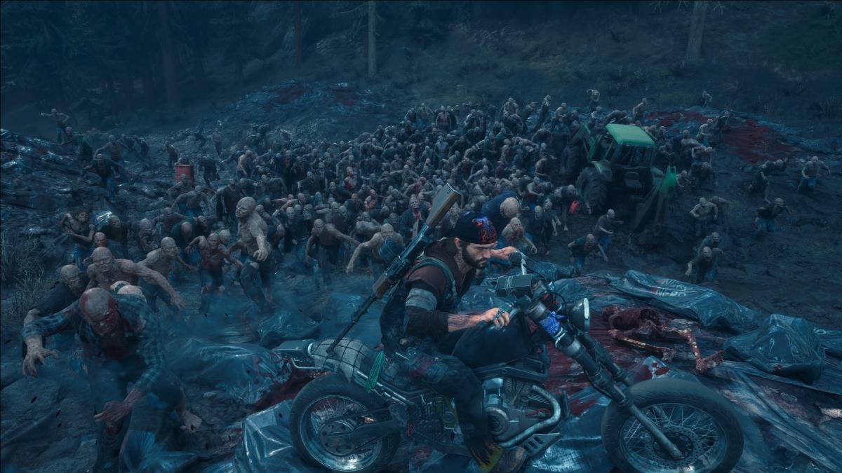 Битви з ордами зомбі – одна з головних особливостей Days Gone / скріншот