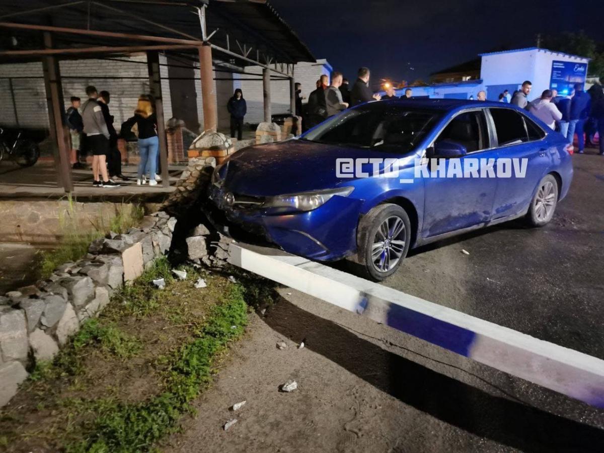 Після ДТП біля Харкова розгорівся конфлікт зі стріляниною / фото t.me/kharkivlife