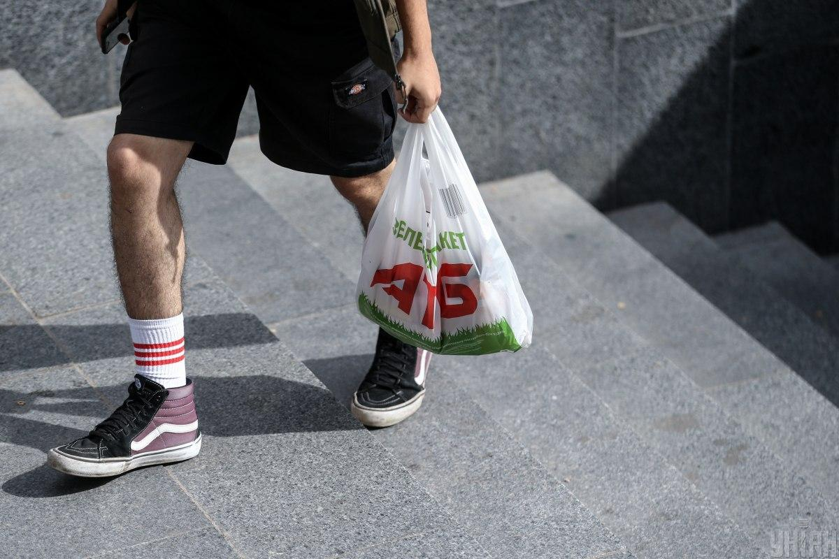 Zelensky enacts law on plastic bag ban / Photo from UNIAN