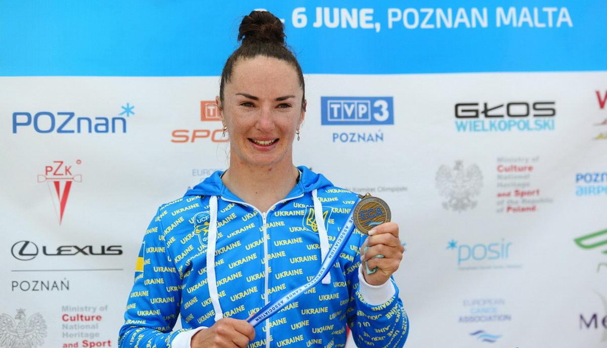 Мария Повх выиграла бронзу / фото ukraine-canoe.org