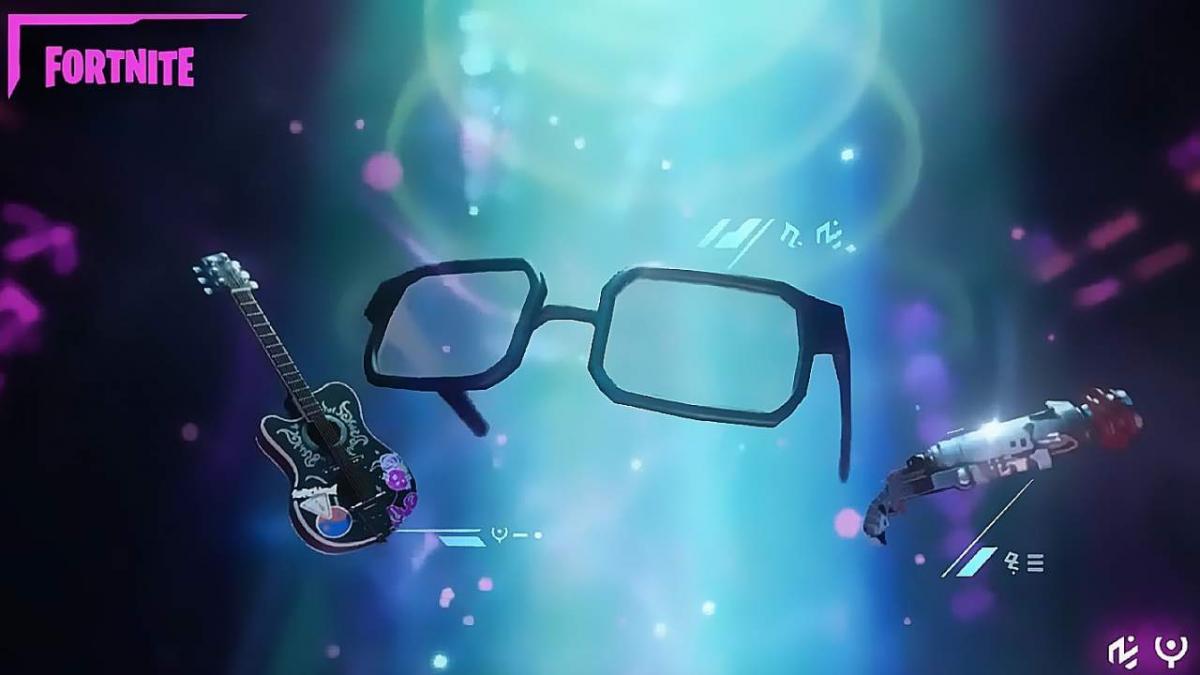 Автори натякнули на появу Супермена за допомогою його окулярів / фото twitter.com/FortniteGame