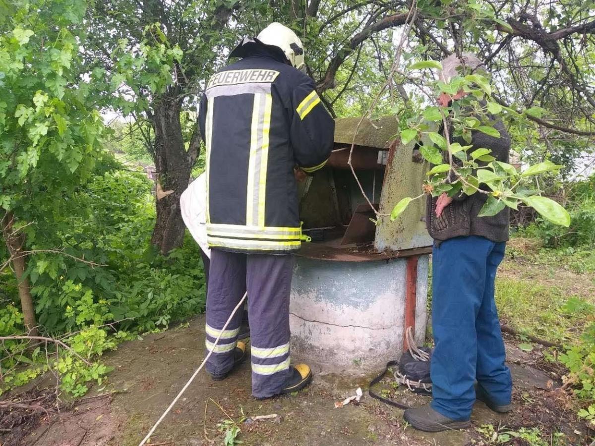 Сільчанка пробула у криниці понад добу/ фото Золотоноша City