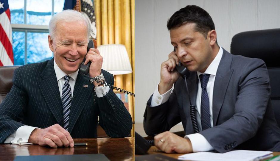 Зеленский и Байден провели телефонные переговоры/ White House/ president.gov.ua