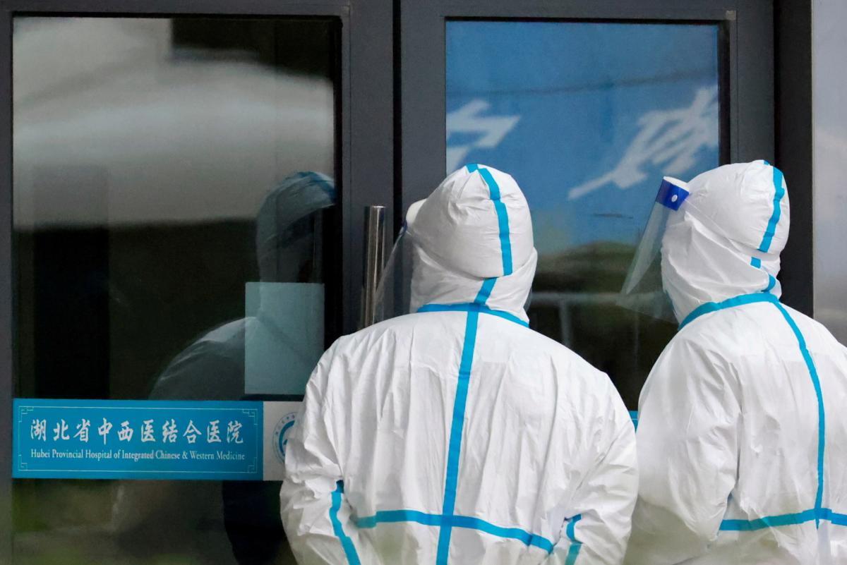 Робот должен помогать медперсоналу с больными коронавирусом \ REUTERS