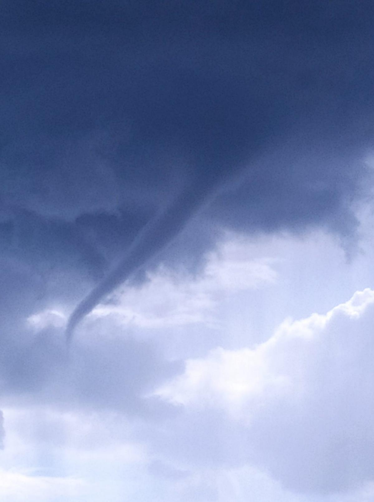 У Дніпропетровській області помітили торнадо / фото Тетяна Карпик