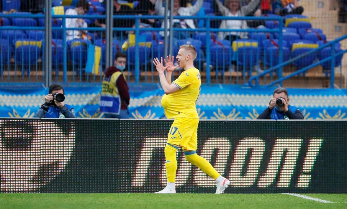 Александр Зинченко посвятил гол беременной жене / фото REUTERS