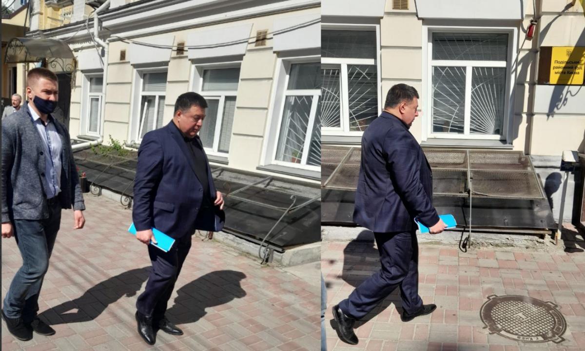 Тупицкий пришел на подготовительное заседание Подольского райсуда / фото УНИАН, Дмитрий Хилюк