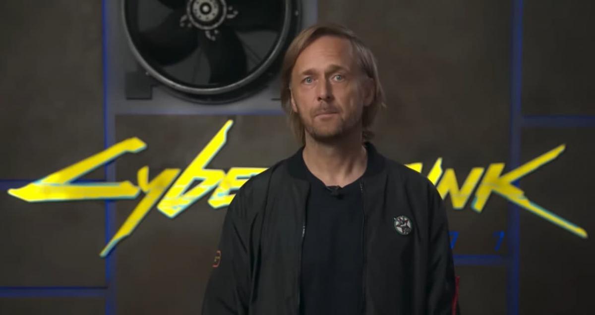Основатель CD Projekt Марчин Ивински /скриншот