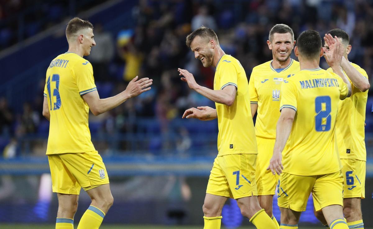 Гравці збірної України / фото REUTERS