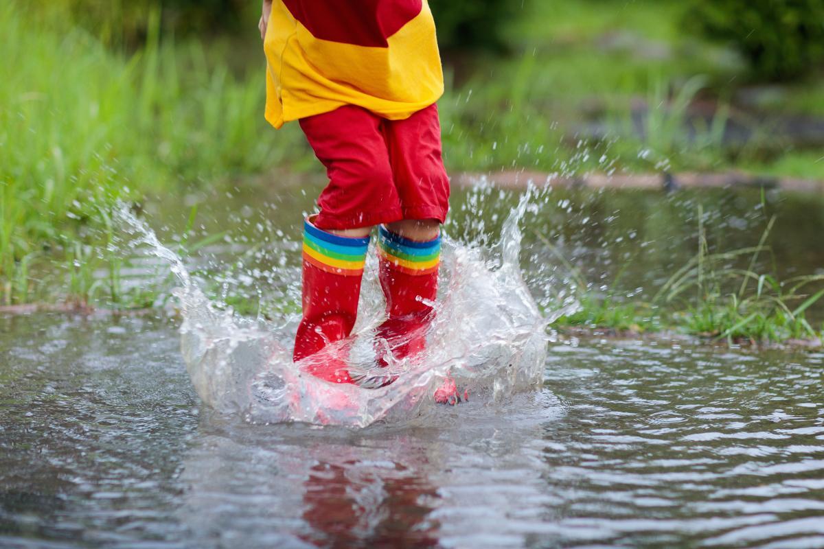 Сегодня в западных областях ожидаются сильные дожди / фото ua.depositphotos.com