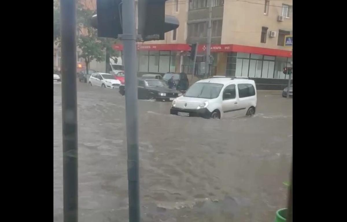 Харьков затопило / скриншот видео